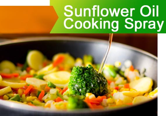 Sunflower Oil Cooking Spray